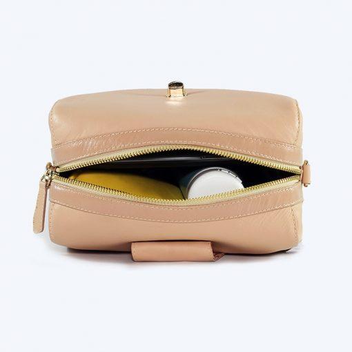 Bolso de piel pequeño/ bolso de cuero pequeño/ cartera de cuero pequeña / cartera de cuero para mujer