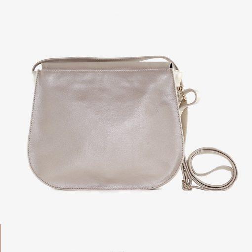 Bolso de cuero para llevar en el hombro, bolso con cremallera de cuero, bolso para llevar en el hombro de cuero hecho a mano