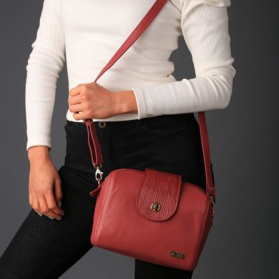 Satchel Leather Bag Small