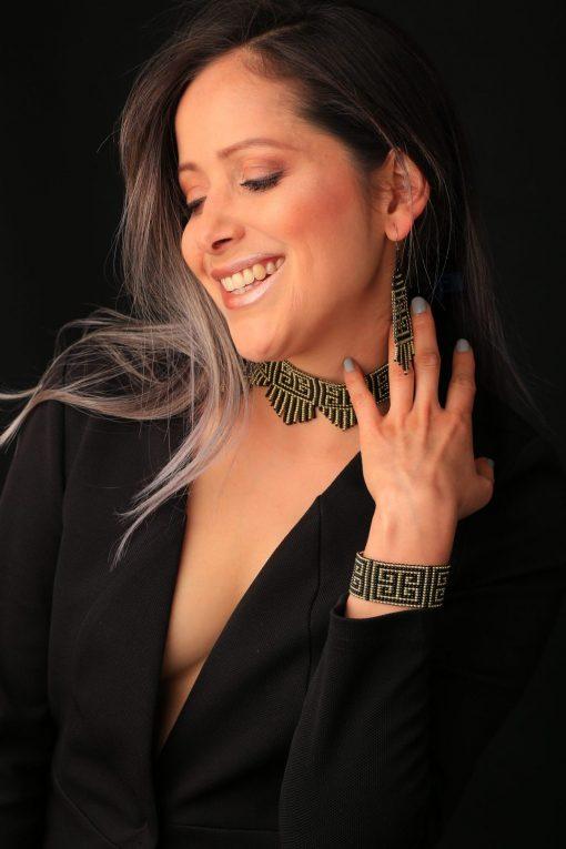 Set of Colombian Embera Jewelry