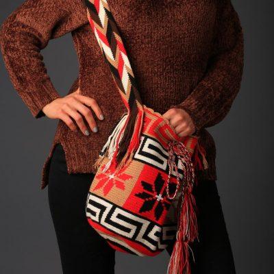 Red Wayúu Bag / Wayúu Bag